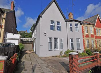 Thumbnail 5 bed semi-detached house for sale in Substantial Period House, Bryngwyn Road, Newport