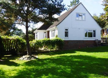 Thumbnail 4 bed detached bungalow for sale in Church Stoke, Montgomery