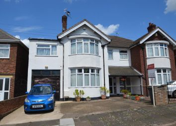 Thumbnail 4 bed semi-detached house for sale in Sandringham Avenue, Leicester