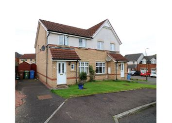 Thumbnail 3 bed semi-detached house for sale in Wallace Brae Court, Falkirk