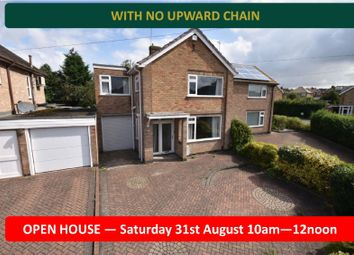 Thumbnail 4 bedroom semi-detached house for sale in Uplands Road, Oadby, Leicester