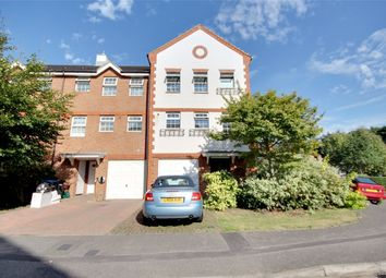 Thumbnail 3 bed end terrace house for sale in Meadow View, Chertsey, Surrey