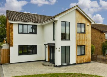 Thumbnail 4 bed detached house for sale in Aston Way, Epsom, Surrey