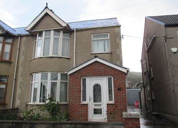 Thumbnail 3 bed semi-detached house for sale in Wern Road, Port Talbot, Neath Port Talbot.