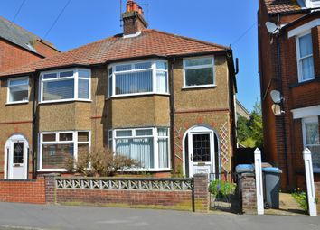 Thumbnail 3 bed semi-detached house for sale in York Road, Felixstowe