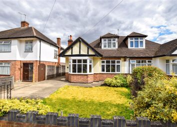 Thumbnail 3 bed semi-detached bungalow for sale in Woodhurst Avenue, Watford, Hertfordshire