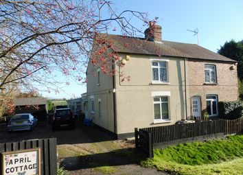 Thumbnail 3 bedroom semi-detached house for sale in Sutton Road, Newton In The Isle, Wisbech