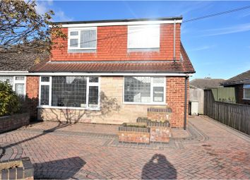 Thumbnail 3 bed semi-detached house for sale in Ashby Close, Holton Le Clay