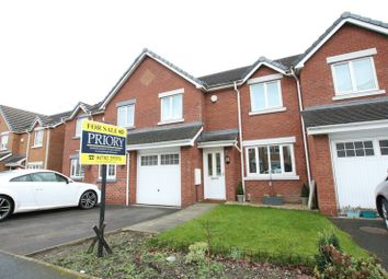 Thumbnail 3 bed town house for sale in Fairfax Close, Biddulph, Stoke-On-Trent