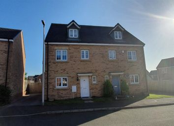 Thumbnail 4 bed town house for sale in Lonydd Glas, Llanharan, Pontyclun