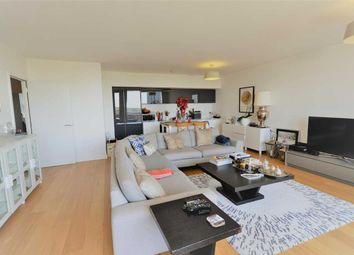 Thumbnail 3 bed flat to rent in Chiswick Point, Colonial Drive, London