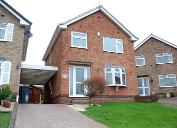 Thumbnail 3 bed detached house to rent in Stanley Close, Ilkeston, Derbyshire