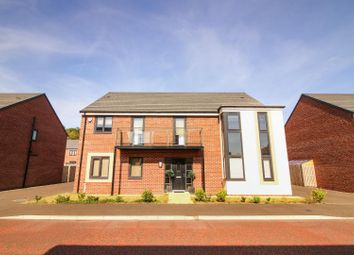 Thumbnail 4 bed detached house for sale in Aspenwood Grove, Newcastle Upon Tyne