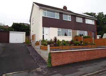 Thumbnail 3 bed semi-detached house for sale in Cliffe Drive, Whittle-Le-Woods, Chorley, Lancashire