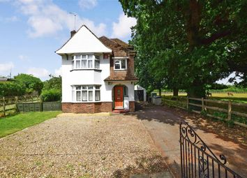 Thumbnail 5 bed detached house for sale in Park Road, Leybourne, West Malling, Kent