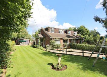 Thumbnail 3 bed semi-detached house for sale in Wangfield Lane, Curdridge, Southampton