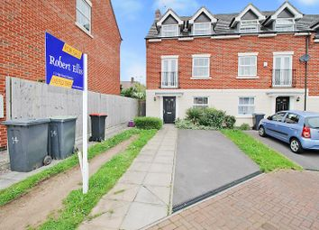 Thumbnail 4 bed town house for sale in Alderman Close, Beeston, Nottingham