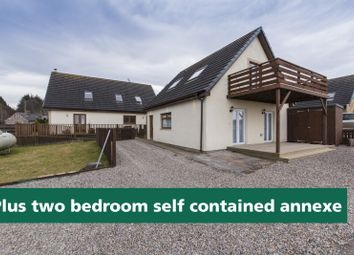 Thumbnail 4 bed detached house for sale in Croy, Inverness, Highland