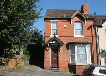 Thumbnail 3 bedroom end terrace house for sale in Ivanhoe Street, Dudley