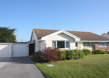 Thumbnail 3 bed semi-detached bungalow to rent in Wheal Golden Drive, Holywell Bay, Newquay