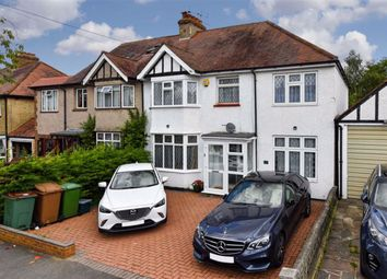 Thumbnail 5 bed semi-detached house for sale in Courtenay Road, Worcester Park, Surrey