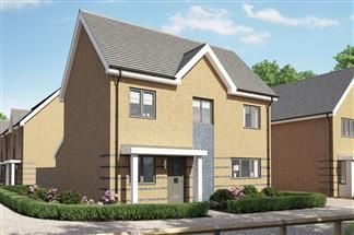 Thumbnail 4 bed detached house for sale in Bellway At Qeii, Howlands, Welwyn Garden City