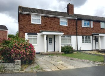 Thumbnail 3 bed end terrace house for sale in Constable Road, Swindon