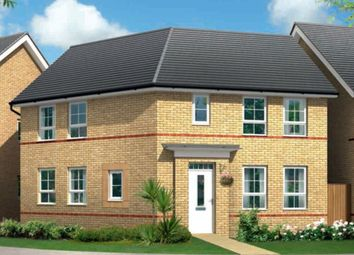 "Thumbnail 3 bed semi-detached house for sale in ""Faringdon"" at Knights Way, St. Ives, Huntingdon"