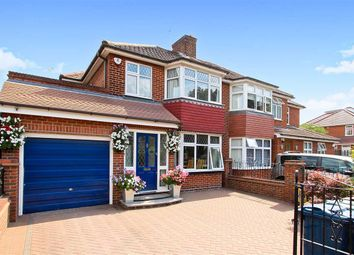 Thumbnail Semi-detached house for sale in Crowshott Avenue, Stanmore