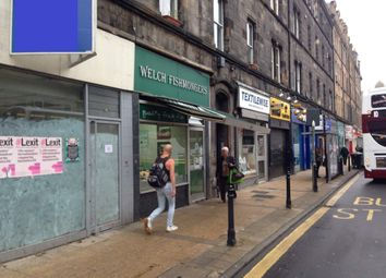 Thumbnail Retail premises for sale in 34 Great Junction Street, Edinburgh