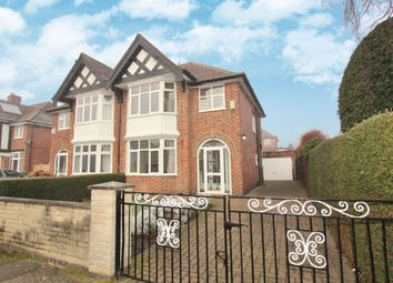 Thumbnail 3 bed semi-detached house for sale in Fellows Road, Beeston, Nottingham