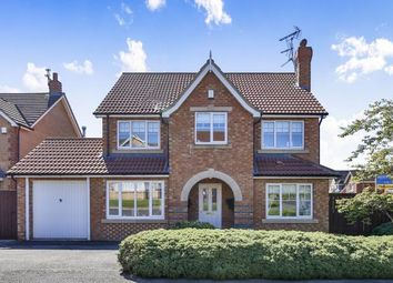 Thumbnail 5 bedroom detached house for sale in Manor Road, Willington, Crook, Co Durham