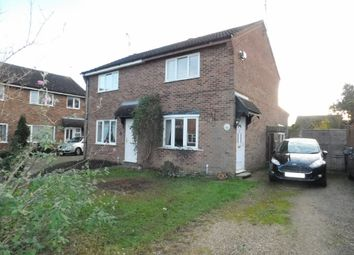 Thumbnail 2 bed semi-detached house for sale in Wordsworth Road, Stowmarket, Suffolk