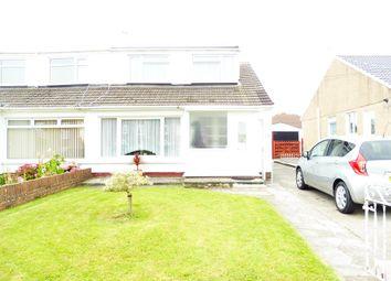 Thumbnail 3 bed property for sale in Merlin Crescent, Cefn Glas, Bridgend