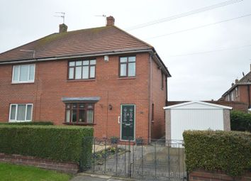 Thumbnail 3 bed semi-detached house for sale in Lesbury Avenue, Shiremoor, Newcastle Upon Tyne