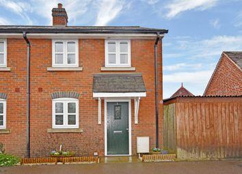 Thumbnail 2 bedroom end terrace house for sale in King Alfred Terrace, Kingsclere, Newbury