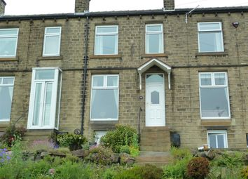 3 bed terraced house for sale in Radcliffe Road, Golcar, Huddersfield HD7