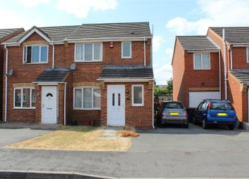 Thumbnail 3 bed semi-detached house for sale in Burgess Road, Coalville