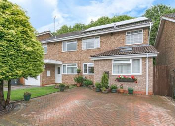 Thumbnail 3 bed semi-detached house for sale in Atcham Close, Redditch