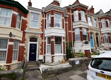 Thumbnail 5 bed terraced house for sale in Hamilton Gardens, Mutley, Plymouth