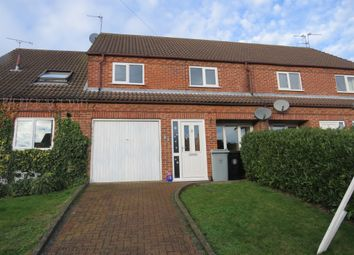 Thumbnail 3 bed terraced house for sale in Hazelwood Drive, Gonerby Hill Foot, Grantham