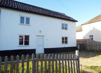 Thumbnail 3 bed end terrace house for sale in Great Hockham, Thetford, Norfolk