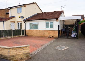 Thumbnail 2 bed semi-detached bungalow for sale in Luccombe Drive, Alvaston, Derby