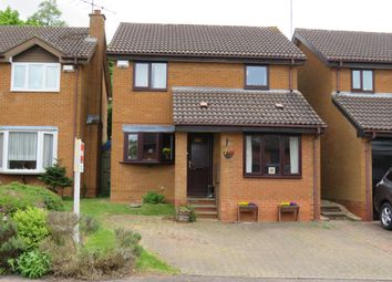 Thumbnail 3 bedroom detached house for sale in Wardlow Close, West Hunsbury, Northampton