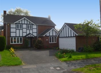 Thumbnail 4 bed detached house to rent in Hill Hook Road, Sutton Coldfield, West Midlands