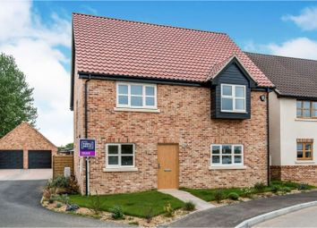 Thumbnail 4 bed detached house for sale in Plot 15 Mill Stone Green, East Wretham, Thetford