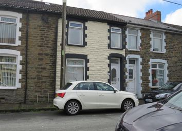 Thumbnail 3 bedroom terraced house to rent in Francis Street, Bargoed, Mid Glamorgan