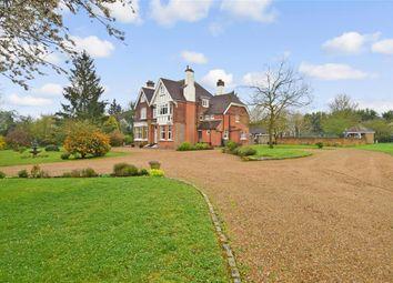 Thumbnail 7 bed detached house for sale in London Road, West Kingsdown, Sevenoaks, Kent