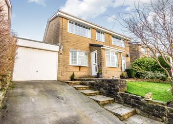 Thumbnail 4 bed detached house for sale in Holme View Avenue, Upperthong, Holmfirth