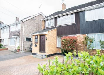 Thumbnail 3 bed semi-detached house for sale in Warley Hill, Warley, Brentwood